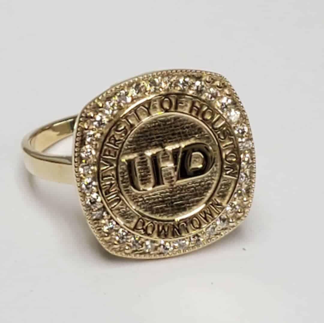 Custom UHD Graduation Ring