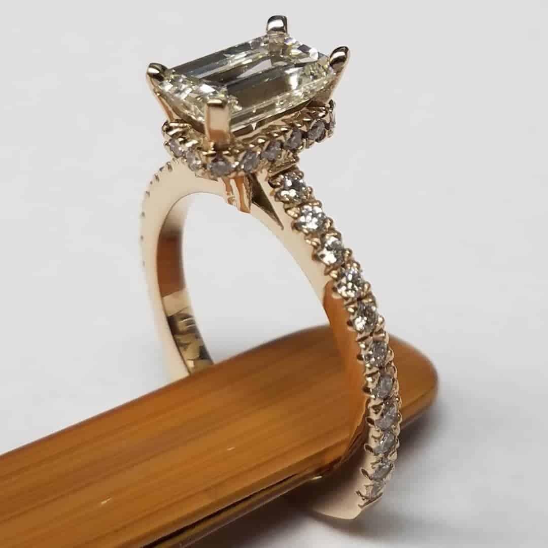 Custom Engagement Ring Houston