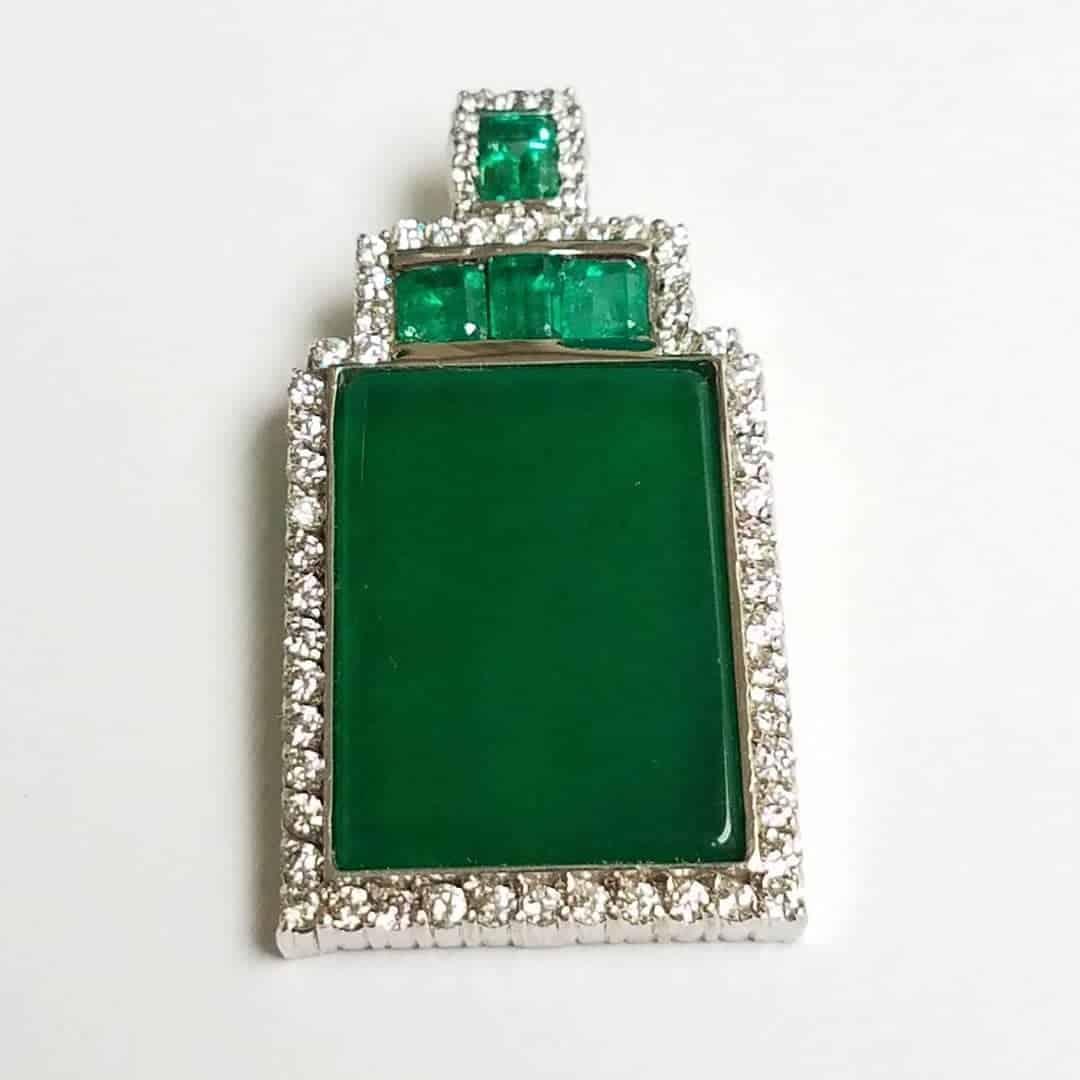 Custom Jade Pendant